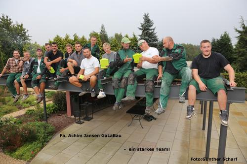 achim jansen gartenbau, landschaftsbau: unser team